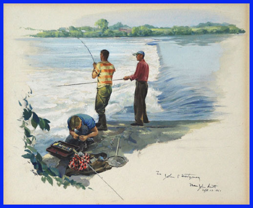 3FriendsFishing1951